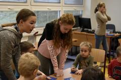 Tvoření s dětmi ze školky
